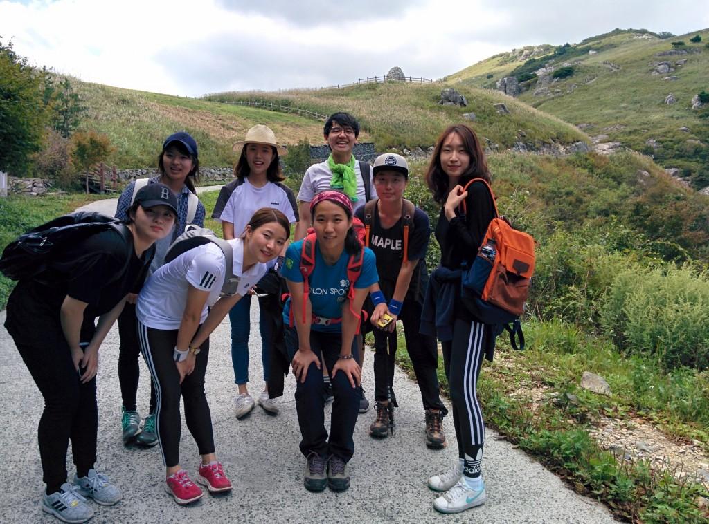 랩 단체산행_신불산_2015
