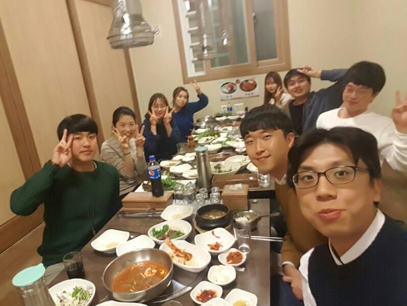 2016 November, Dinner time