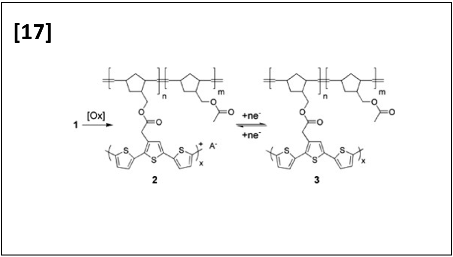 Poly(terthiophene)s from Copolymer Precursors via Solid-State Oxidative Conversion