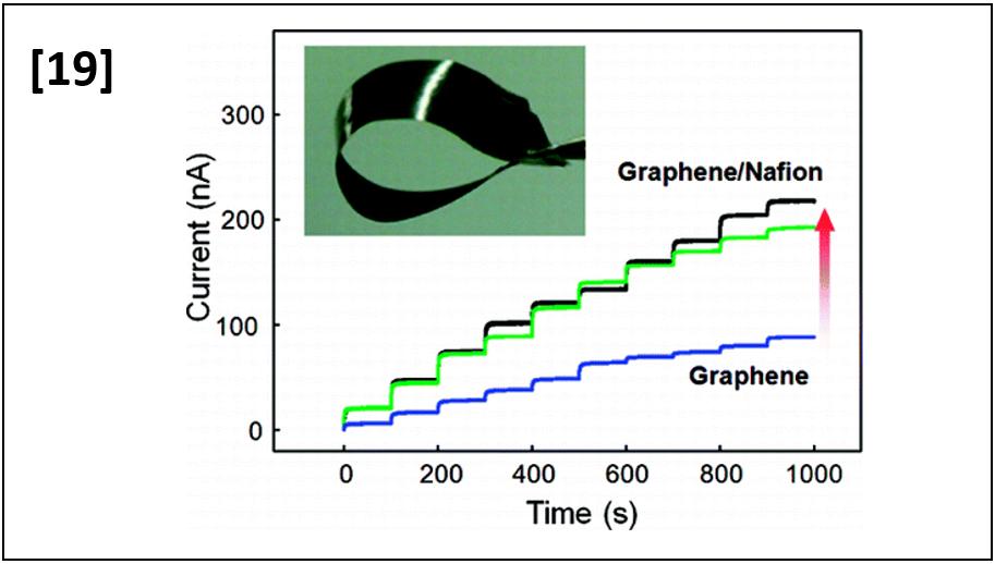 Solution Chemistry of Self-Assembled Graphene Nanohybrids for High-Performance Flexible Biosensors