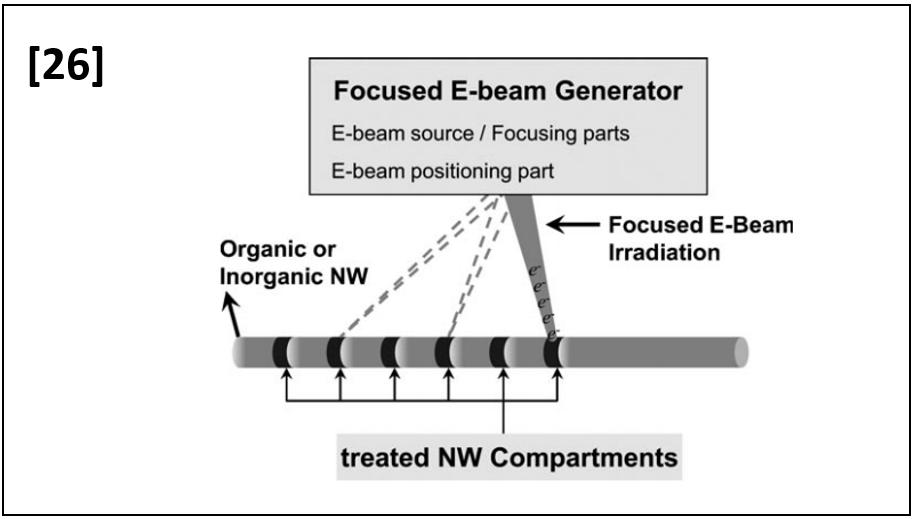 Fine Characteristics Tailoring of Organic and Inorganic Nanowires Using Focused Electron- Beam Irradiation